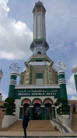 Menara Gentala Arasy Jambi Indonesia Review Kota