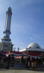 Menara Gentala Arasy Pusat Wisata Sejarah Religi Tribun Jambi Kota
