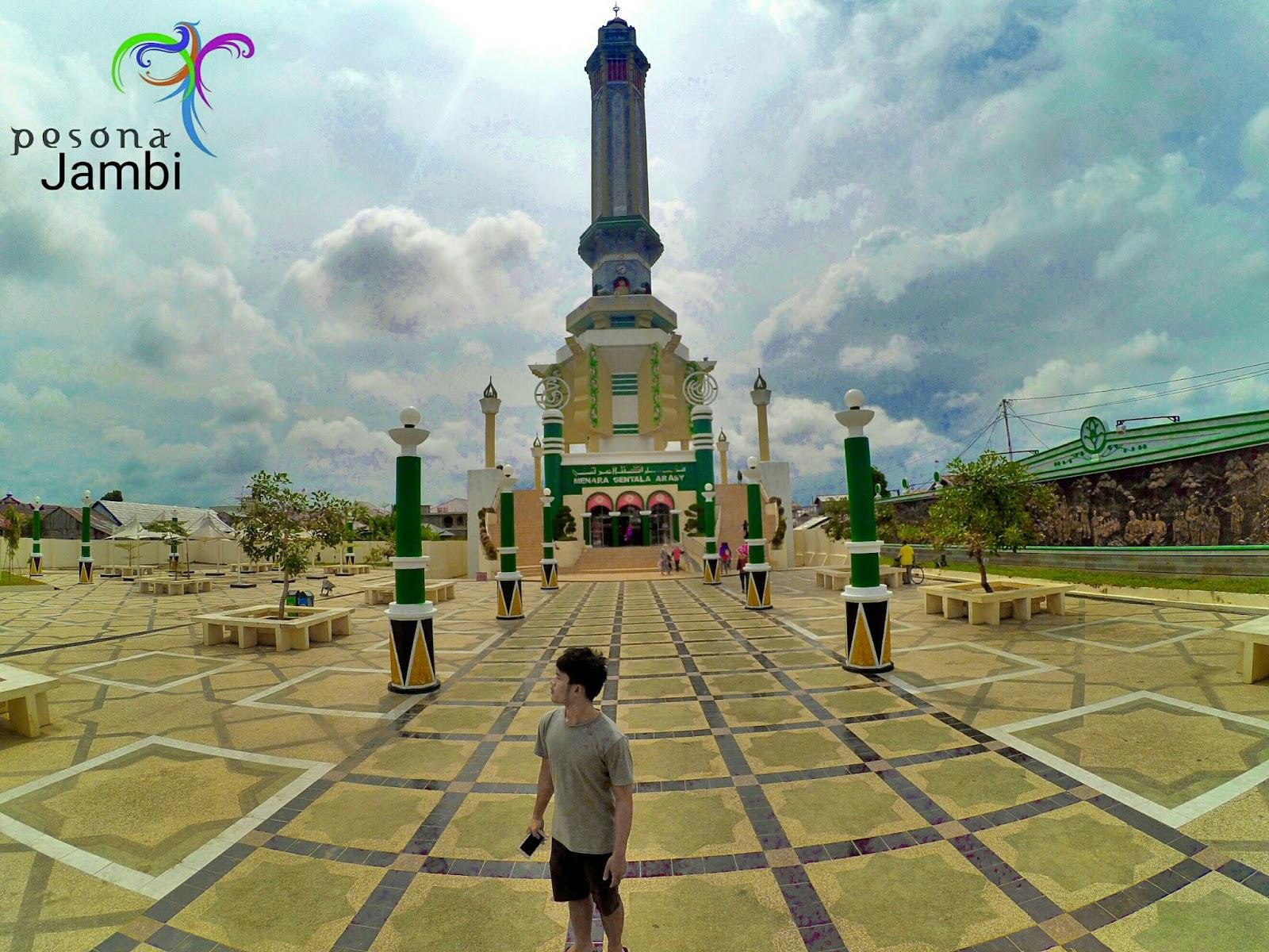 Pesona Jambi Menara Gentala Arasy Kota