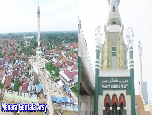 Pesona Tempat Wisata Kota Jambi Menarik Menawan Hati Menara Gentala