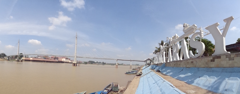 Traveling Omnduut 3 Jembatan Gentala Arasy Djangki Ikon Kota Jambi