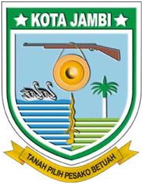 Jambi City Crest Sumatran Feet Seal Represent Philosophical Historical Identity