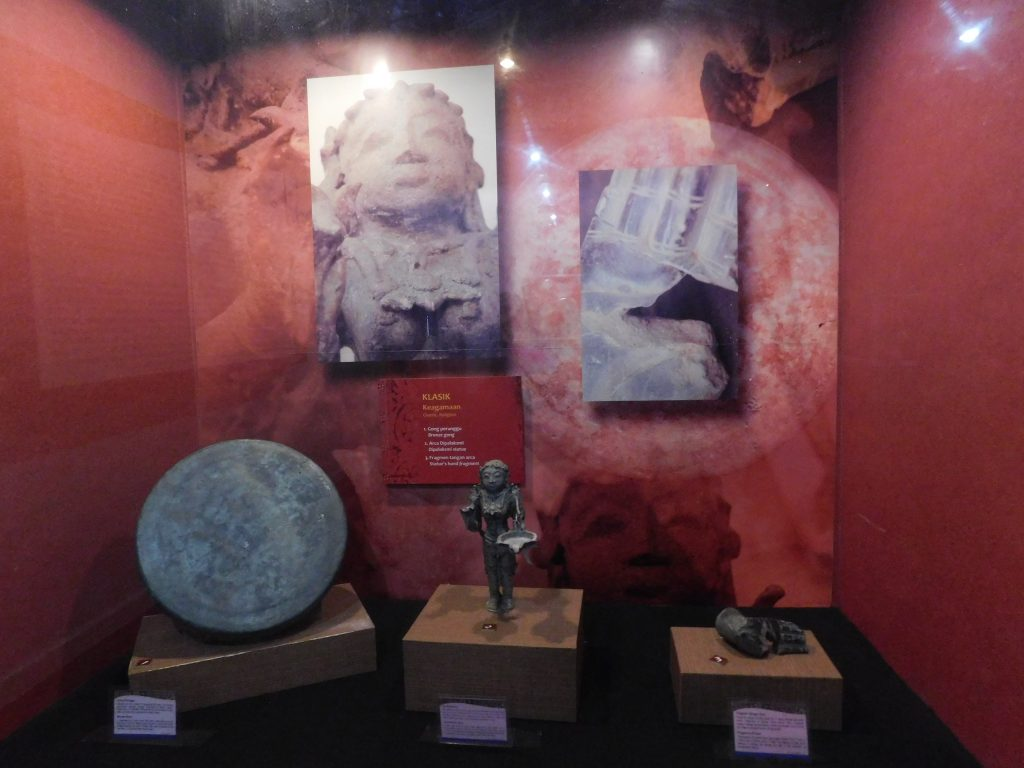 Koleksi Masterpiece Museum Siginjei Jambi Gong China Arca Dewi Fragmen