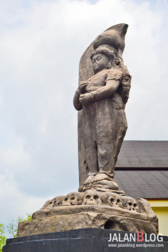 Museum Siginjei Prj Jalanblog Replika Patung Adityawarman Negeri Jambi Kota