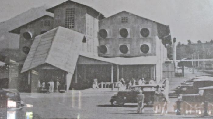 Wisata Sejarah Jambi Foto Pabrik Teh Kayu Aro 1930 Dipajang