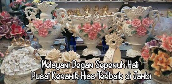 Keramik Hias Jambi Grosir Guci Pajangan Pasar Menjual Kaligrafi Jam