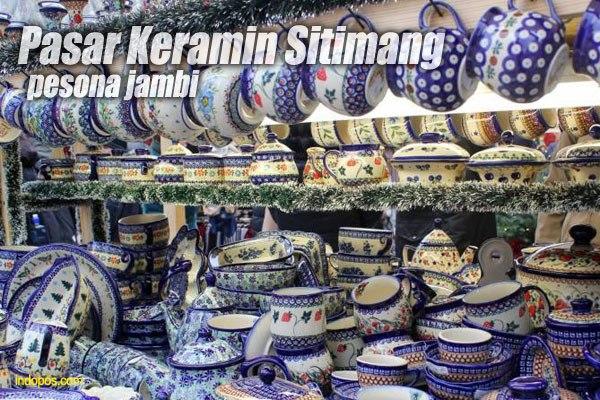 Lebaran Overland Sumatera Temukan Advanture Culture Paradise Jambi Pasar Keramik
