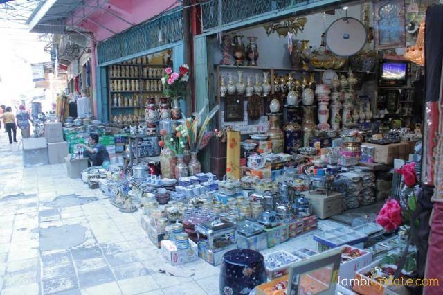 Pusatnya Pasar Keramik Jambi Jambiupdate Berita Sitimang Kota