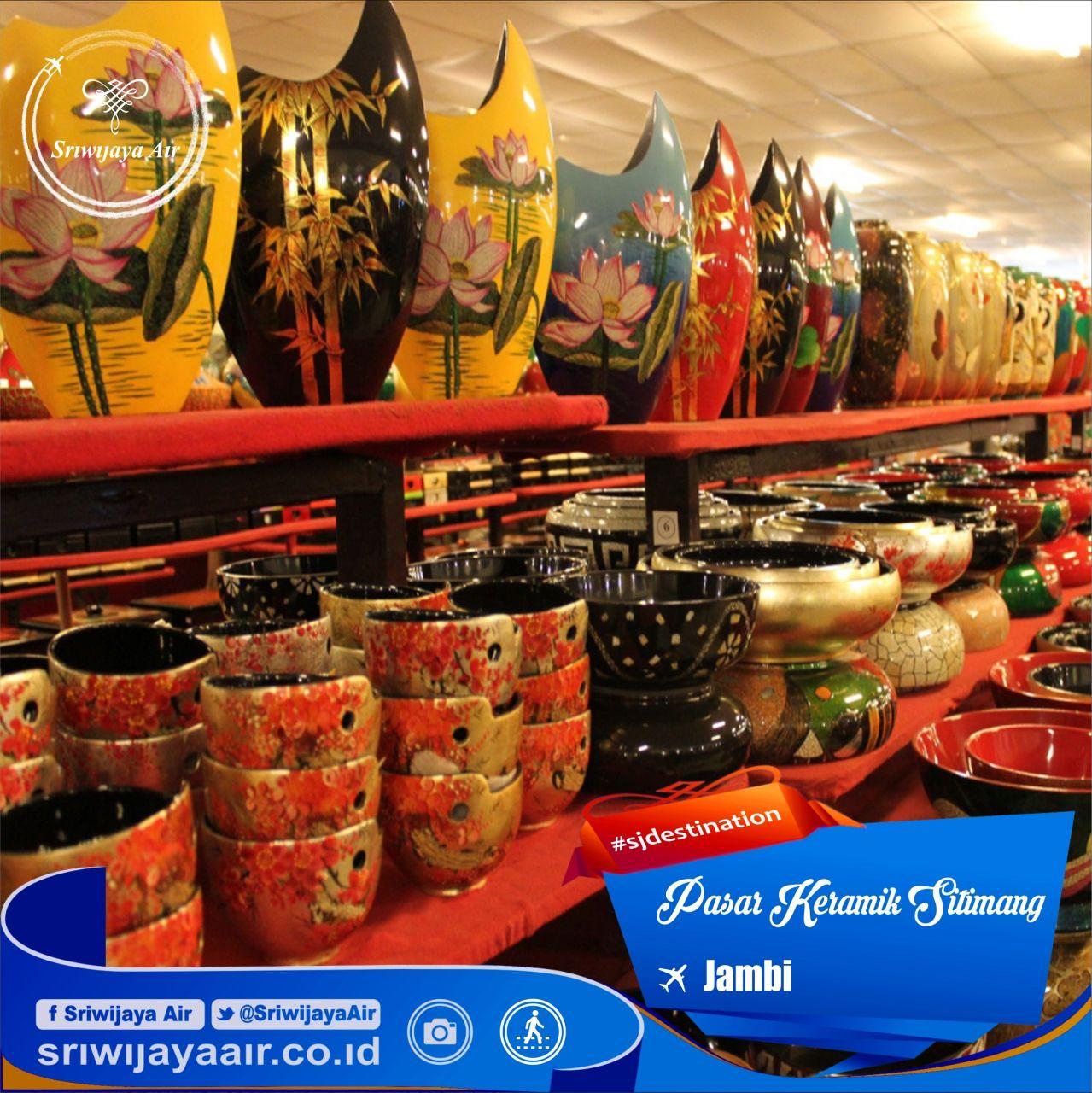Suka Mengumpulkan Keramik Guci Sejenisnya Kunjungi Pasar Sitimang Jambi Yg