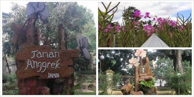 19 Tempat Wisata Jambi Wajib Dikunjungi Taman Anggrek Sri Soedewi