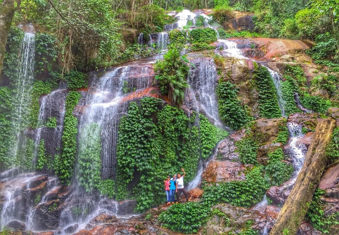5 Tempat Wisata Terbaik Jambi Air Terjun Talang Kemulun Taman