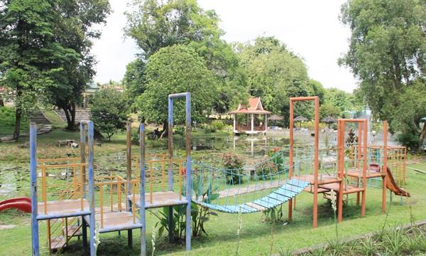 Taman Angrek Soedewi Masjchun Sofwan Sepi Pengunjung Anggrek Sri Kota