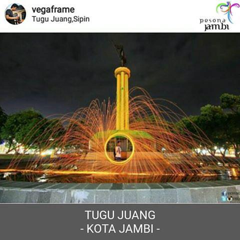 Jambi Tourism Official Pesonajambi Instagram Photos Videos Nama Tugu Juang