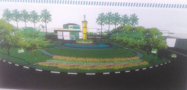 Pu Provinsi Bangun Plaza Terbuka Umum Tugu Juang Jambipos Desaing