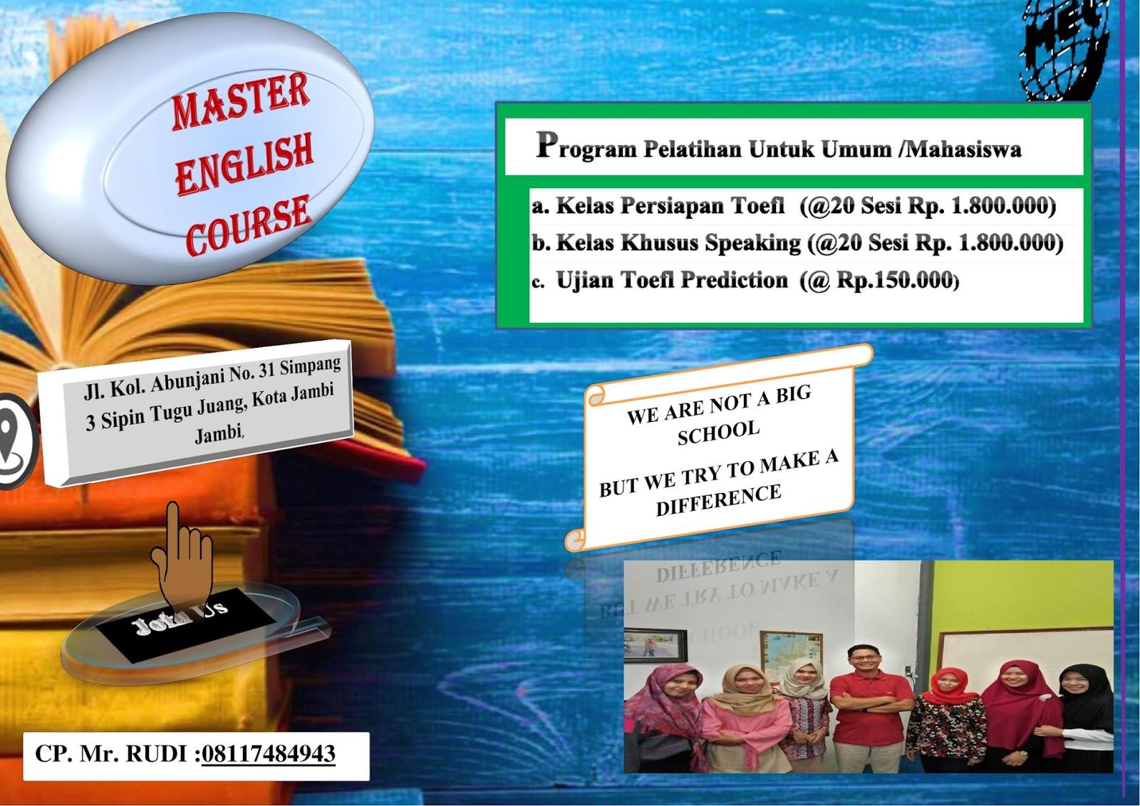 Rudi Hartono Ilmu Sejarah Fib Unja Mec Master English Kursus