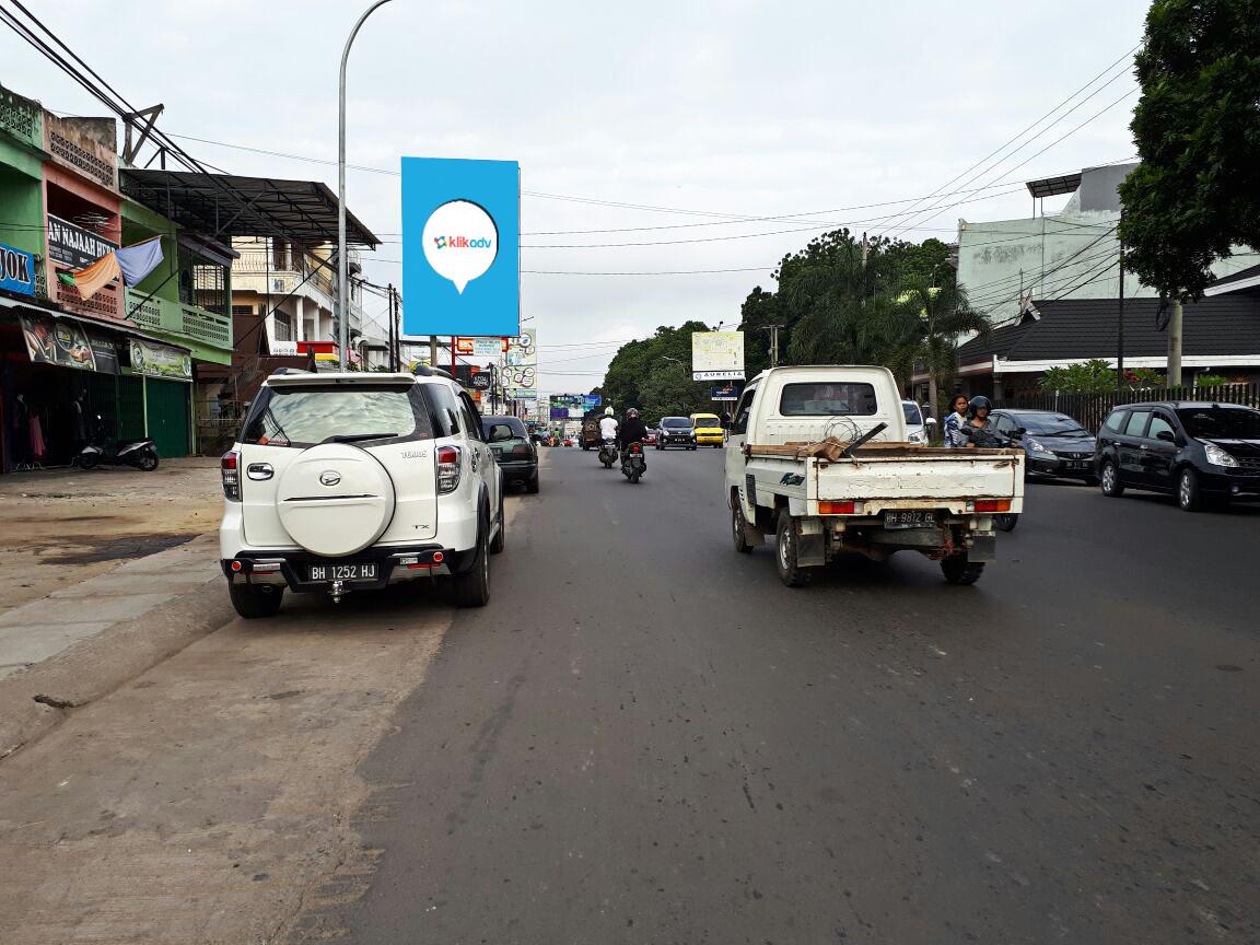 Sewa Baliho Jambi Kota Jl Hos Cokro Aminoto Tugu Juang
