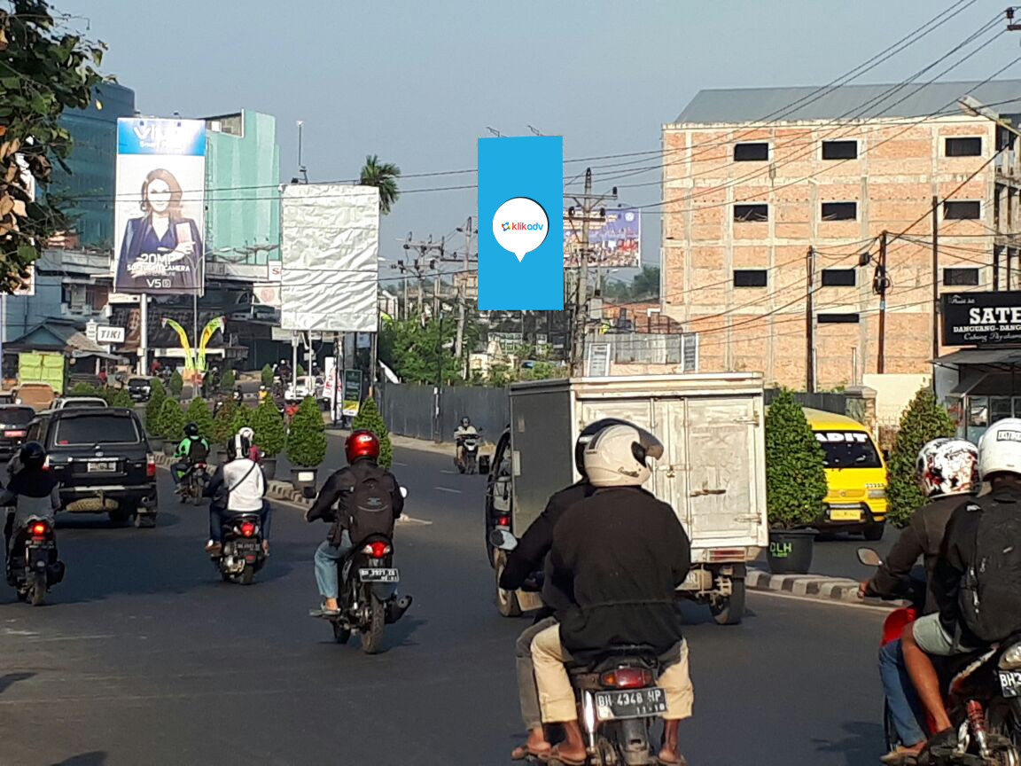 Sewa Billboard Jambi Kota Jl Bakarudin Depan Jamtos Tugu Juang