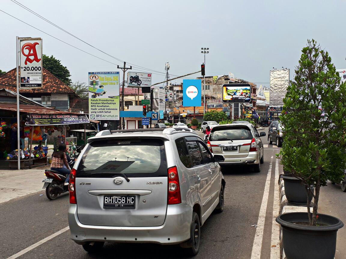 Sewa Billboard Jambi Kota Jl Sumantri Brojonegoro Simpang Honda 1