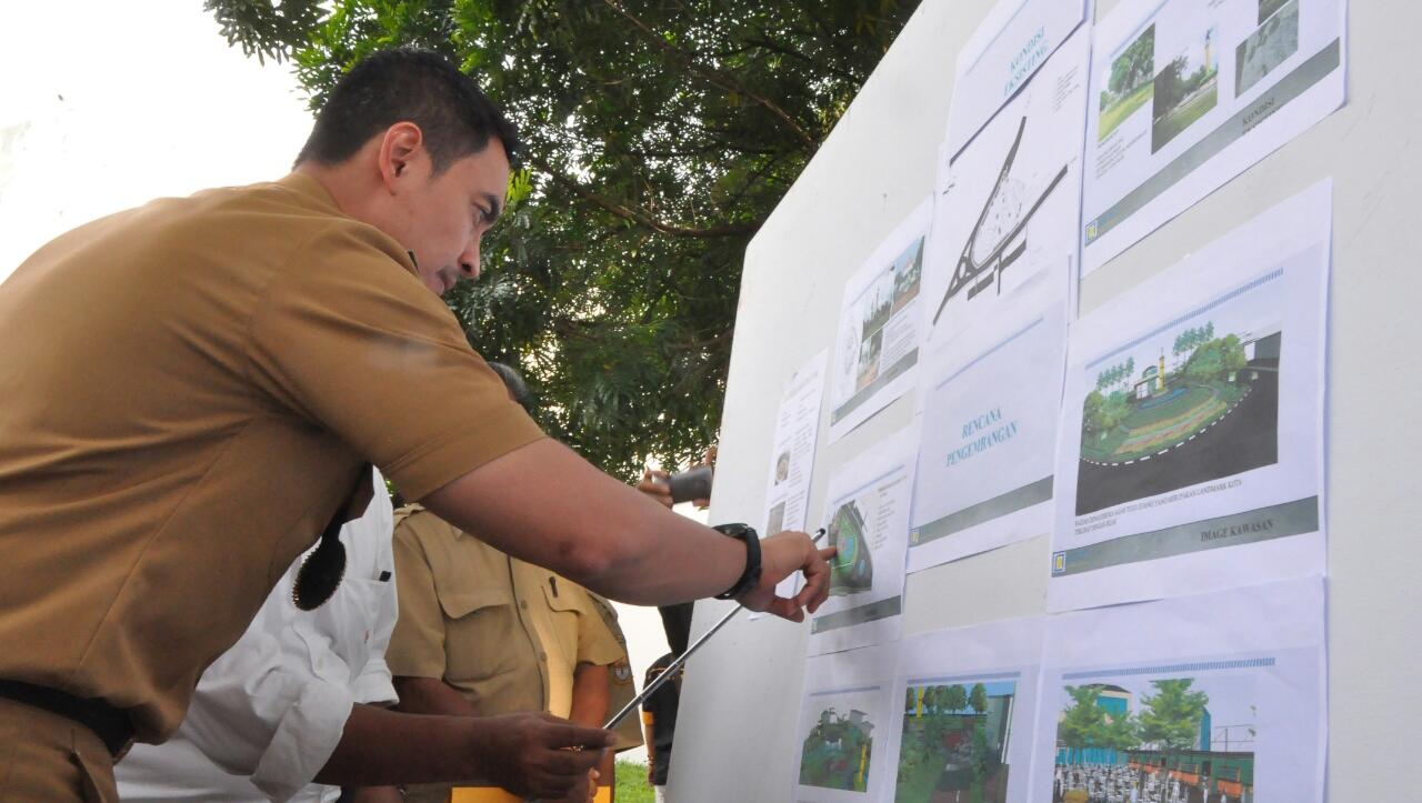 Gubernur Jambi Zola Lokasi Tugu Juang Bakal Jadi Taman Hijau