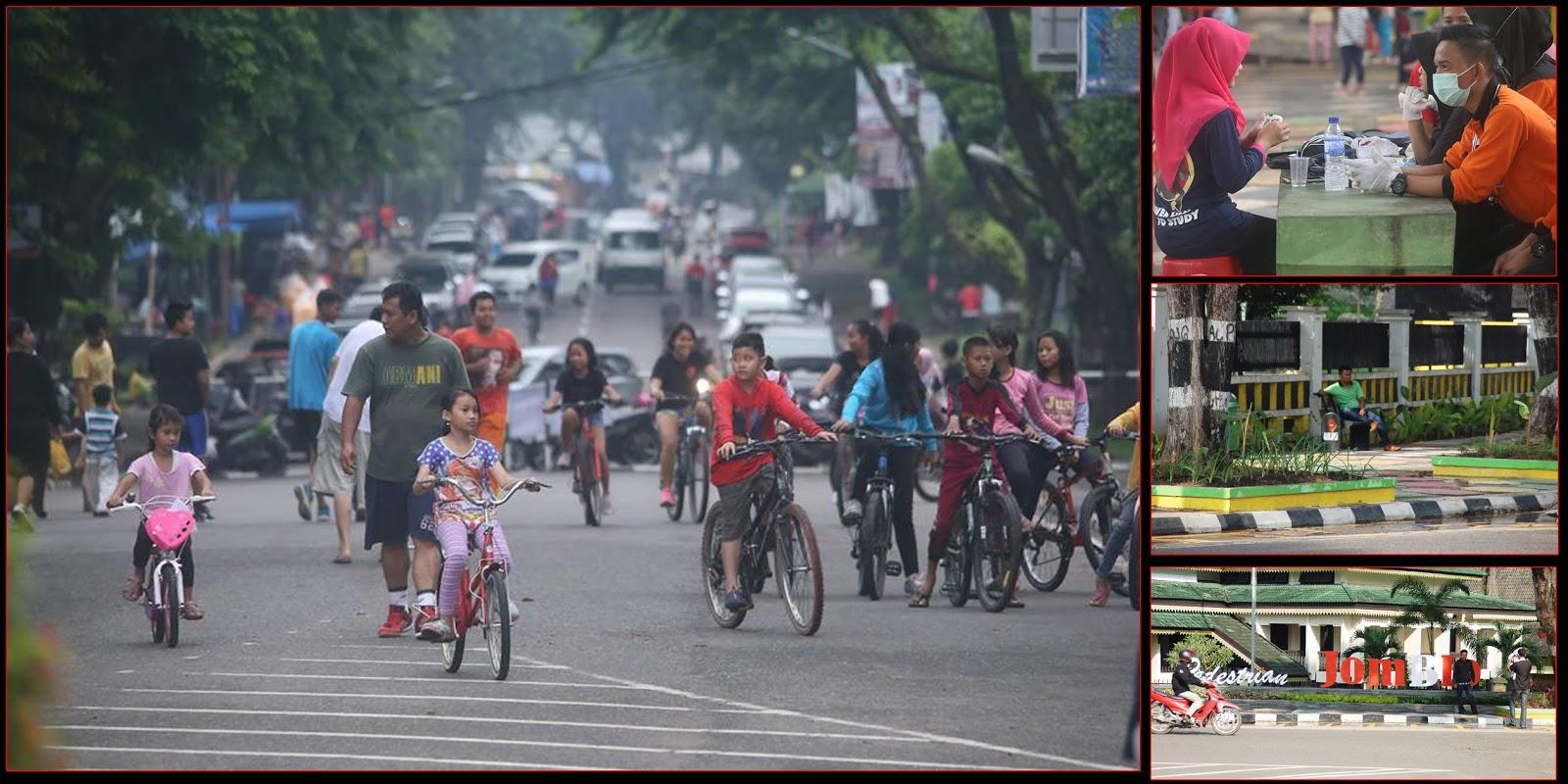 Ketika Taman Kota Menjadi Kebutuhan Masyarakat Jambi Jambipos Car Free