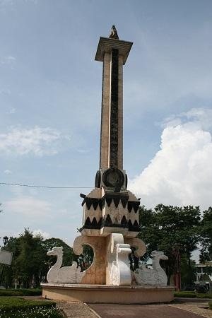 Monuments Sumatran Feet Page 2 Taman Tugu Jam Monas City