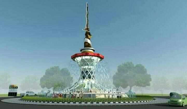 Tugu Monas Jambi Nasibmu Jambipos Online Design Keris Siginjai Anggaran