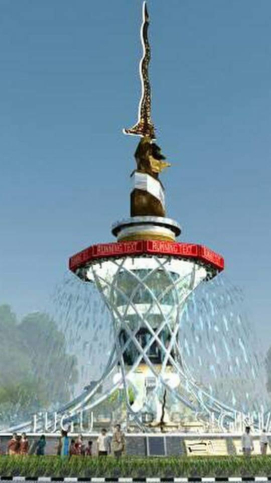 Walikota Jambi Tanggapi Polemik Pembangunan Tugu Keris Siginjai Kotajambi Terkait