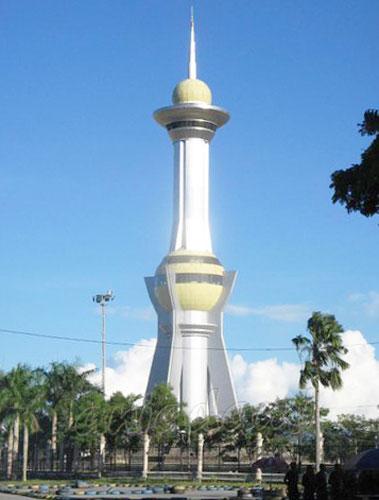 Kendari City Celebes Ikon Kota Taman