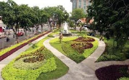 Pemkot Kendari Berdayakan Taman Kota Indonesia Timur Makassar Siap Bangun