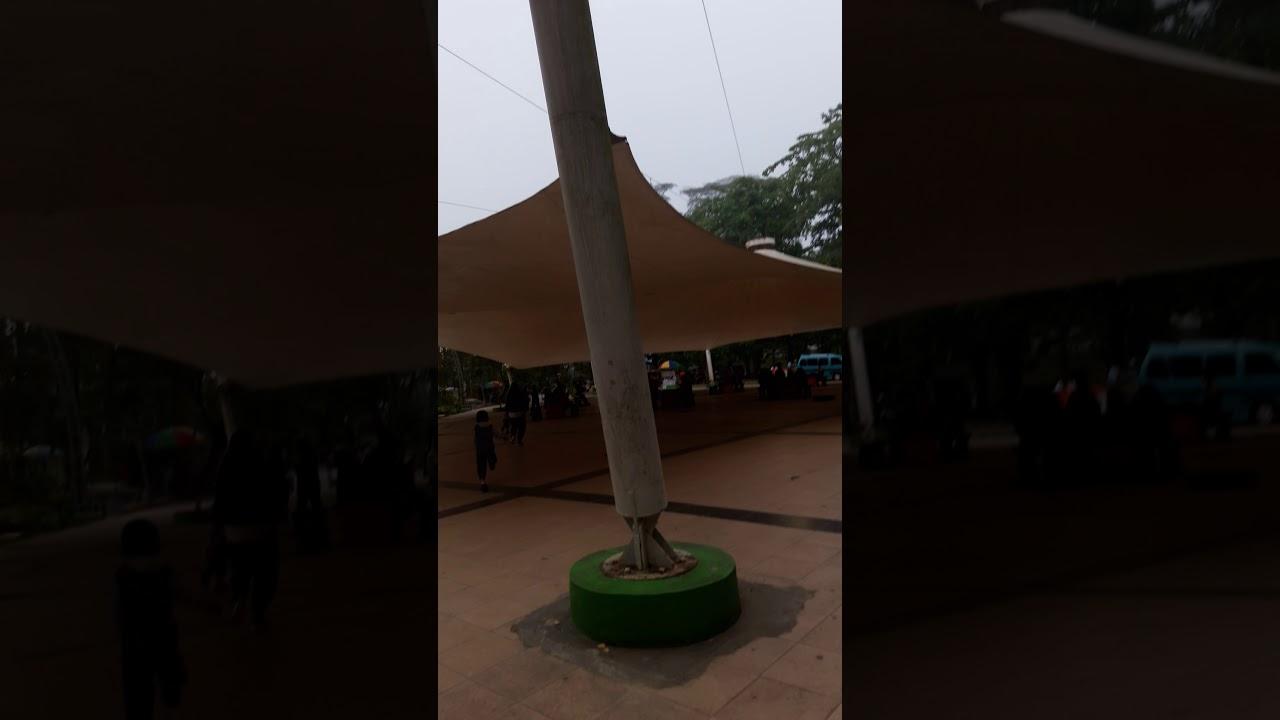 Suasana Minggu Pagi Taman Kota Kendari Youtube