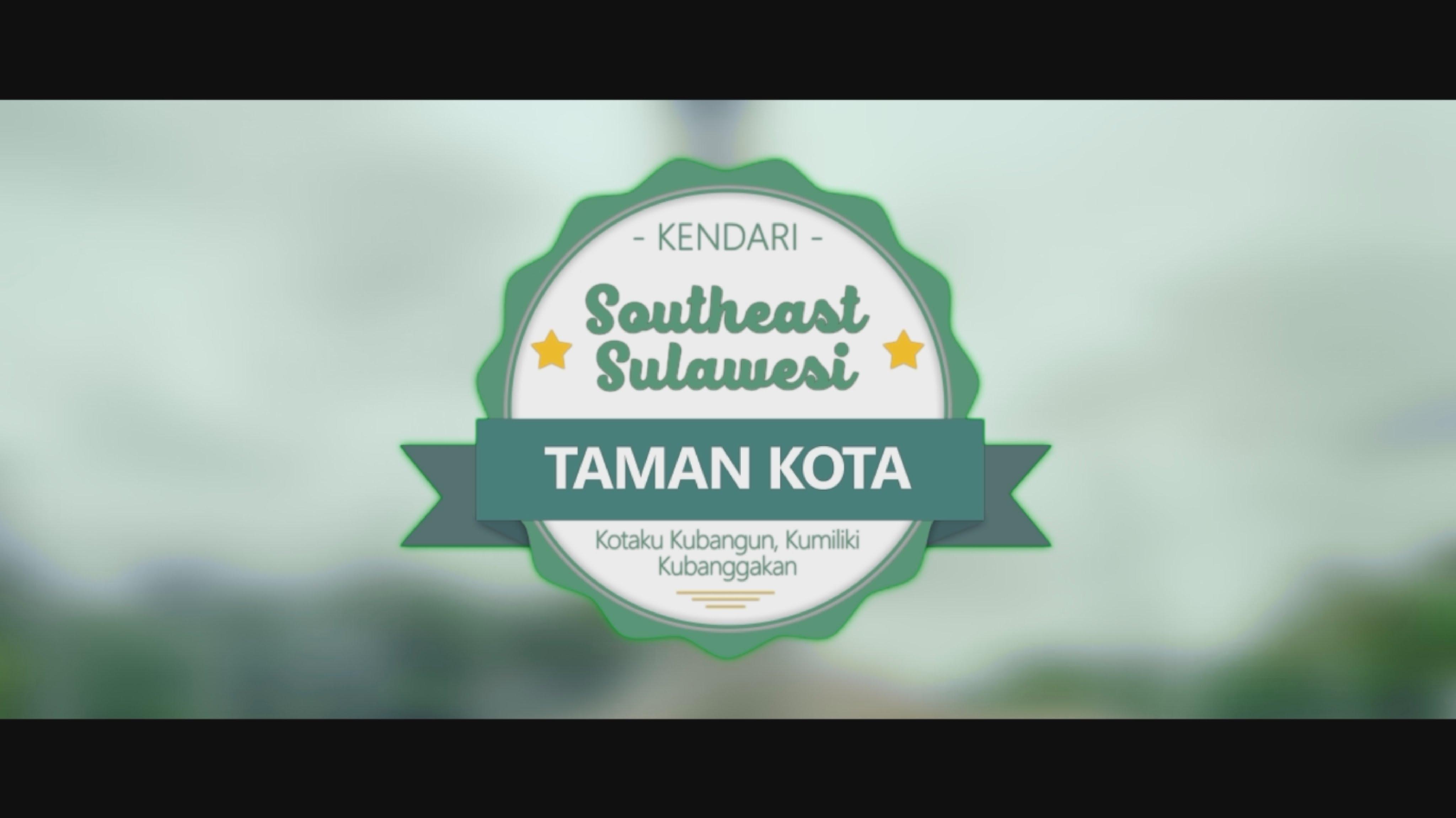 Tamkot Spot Jalan Kendari Youtube Taman Kota