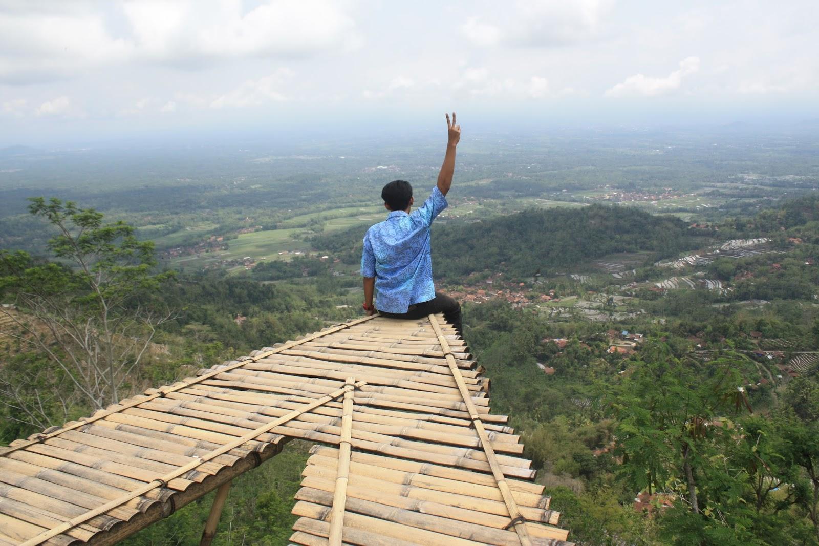 Kabar Magelang Tempat Wisata Terbaru Punthuk Mongkrong Yaaaa Lebih Tinggi