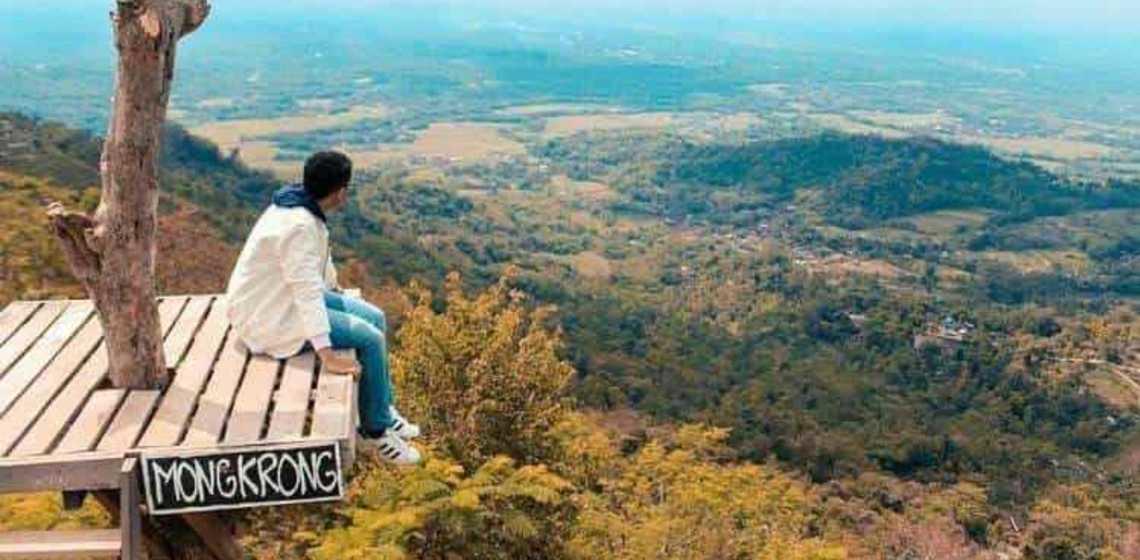 Keindahan Objek Wisata Punthuk Mongkrong Magelang Ulinulin Salah Satu Kabupaten