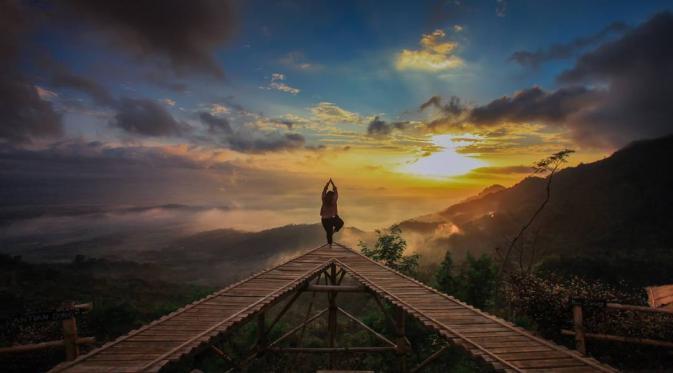 Punthuk Mongkrong Spot Sunrise Sunset Magelang Food Jawa Tengah Abibagas21