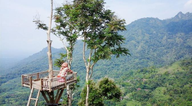 Punthuk Sukmojoyo Satu Seru Nikmati Pesona Magelang Lampaui Borobudur Sudut