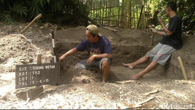 Diduga Ditemukan Bangunan Peninggalan Majapahit Sidoarjo Balai Pelestarian Purbakala Kota