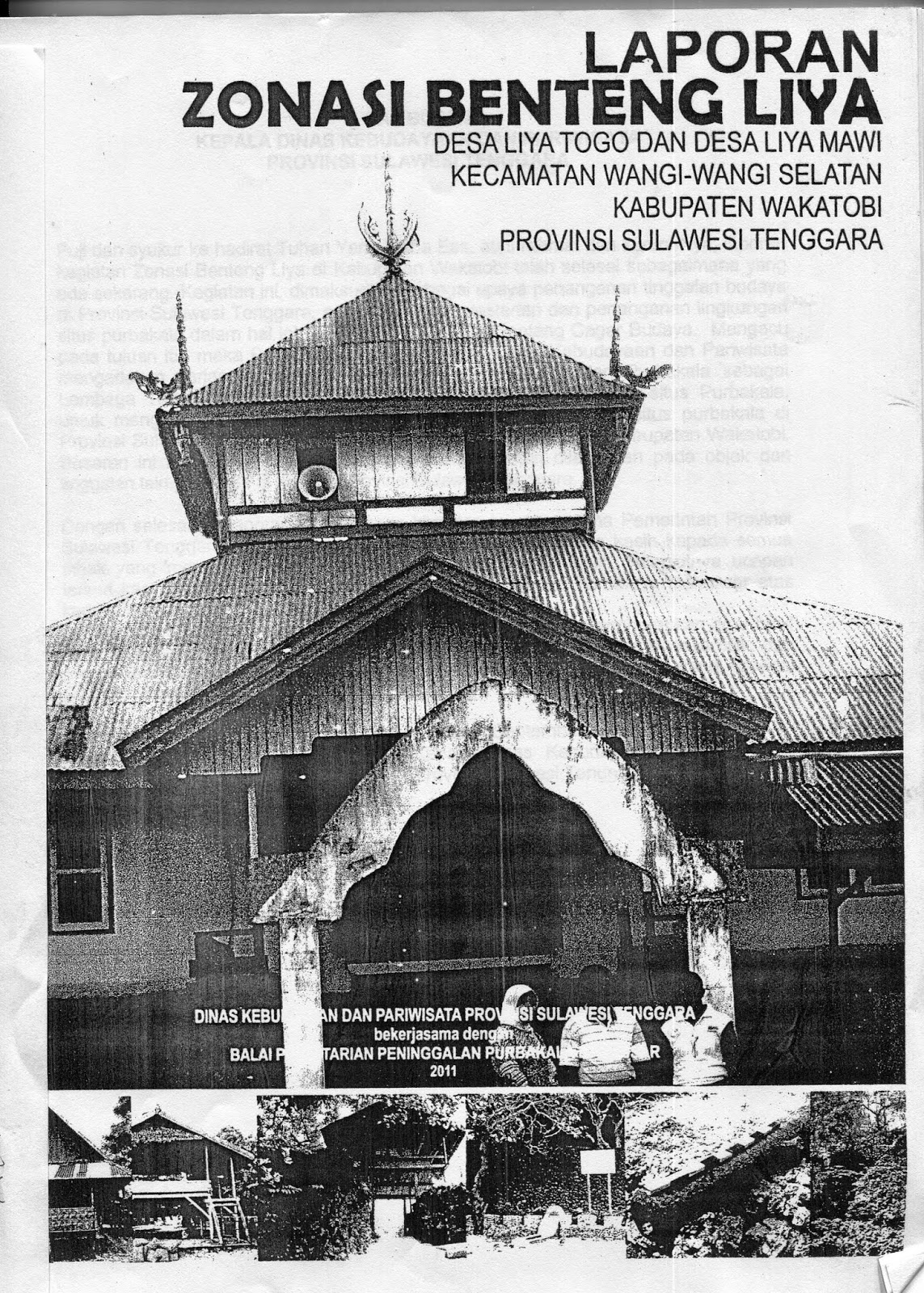 News Kabali Indonesian Culture World Benteng Liya Pulau Lapis Pertama