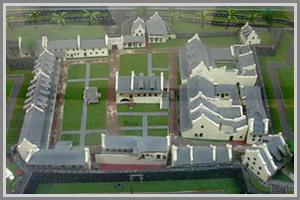Benteng Fort Rotterdam Arsitektur Bersejarah Sulawesi Selatan Dinding Rotterdamkokoh Menjulang