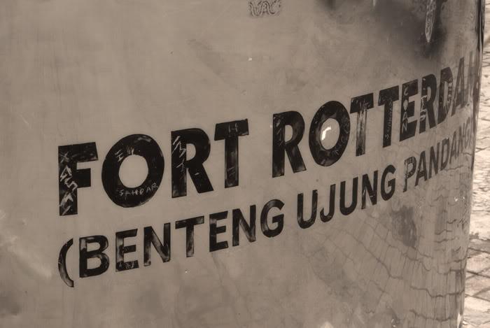 Benteng Fort Rotterdam Kerajaan Gowa Tallo Makassar Kota