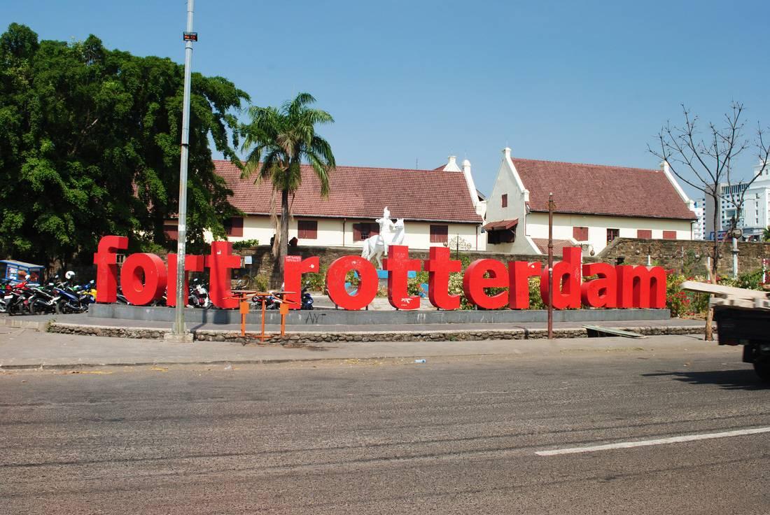 Benteng Fort Rotterdam Pertahanan Belanda Makassar Sulawesi Selatan Kota