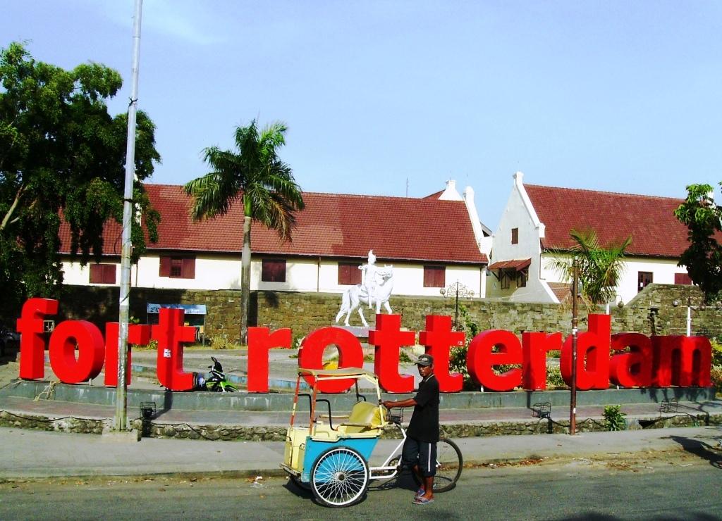 Berwisata Benteng Fort Rotterdam Kota Makassar