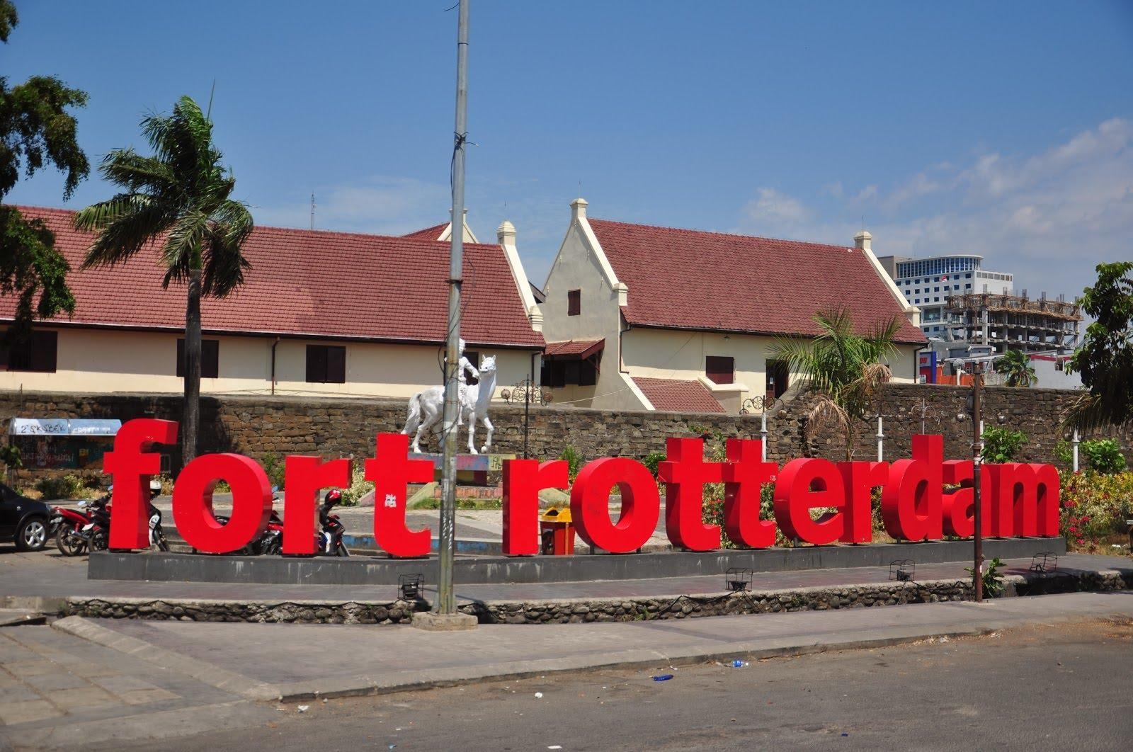 Fort Rotterdam Benteng Kota Makassar