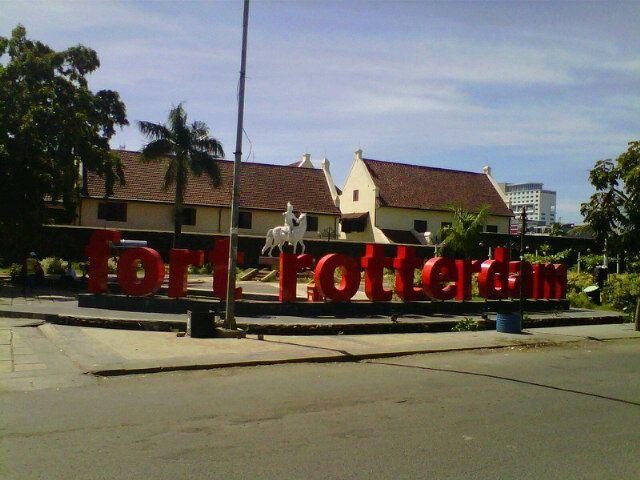 Fort Rotterdam Benteng Ujung Pandang Makassar Sulawesi Selatan Kota