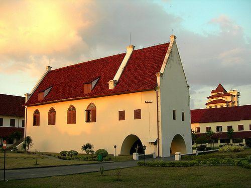Fort Rotterdam Benteng Ujung Pandang Preserve Dutch Asia Kota Makassar