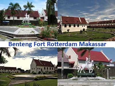 Fort Rotterdam Musium Hidup Sulawesi Selatan Icapila Daeng Kana Benteng