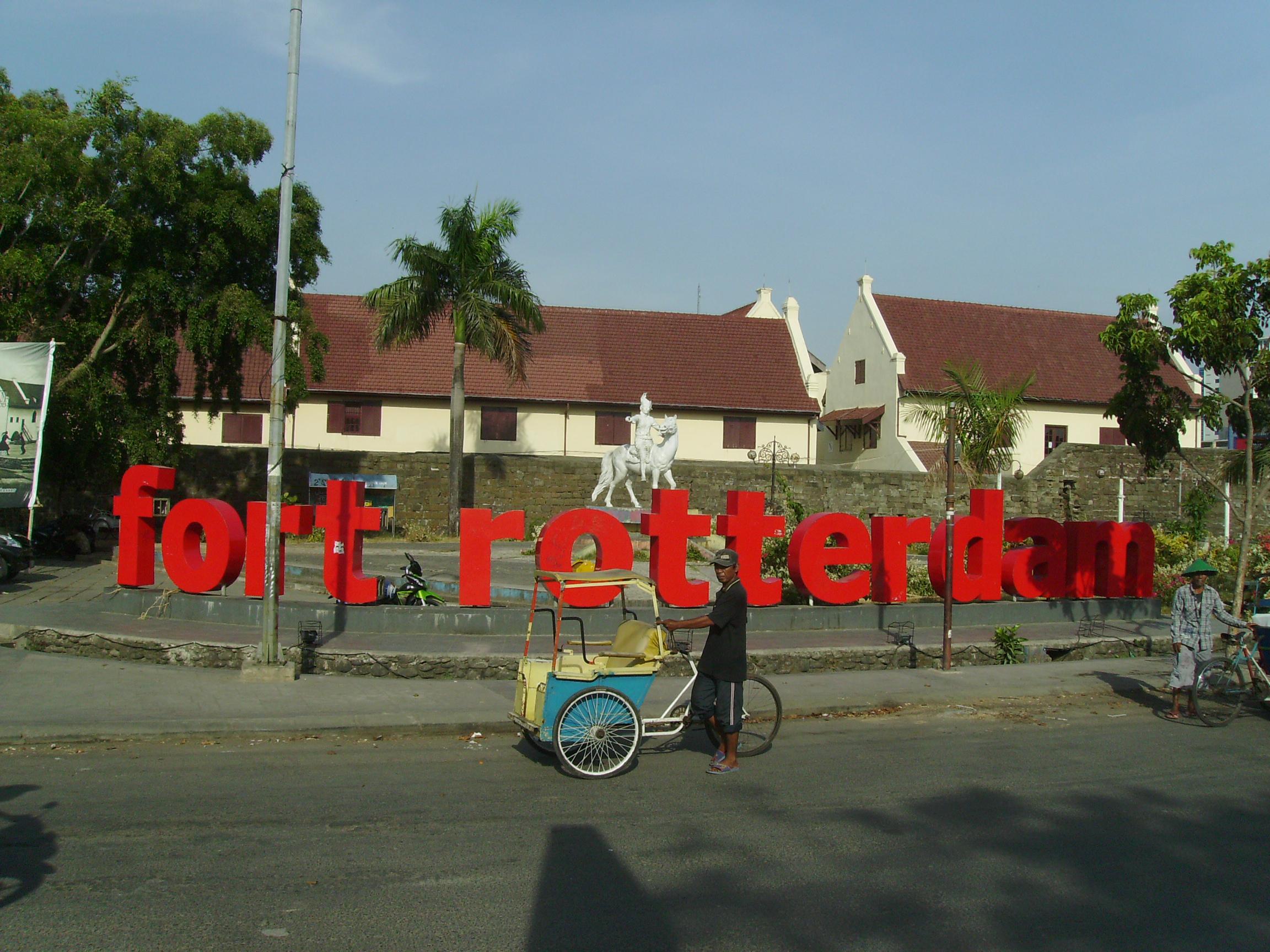 Fort Rotterdam Nesa Tasya Digital Camera Benteng Kota Makassar