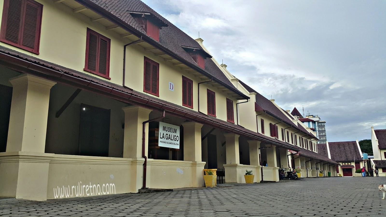 Ruliretno Tentang Museum La Galigo Fort Rotterdam Makassar Bukan Secara
