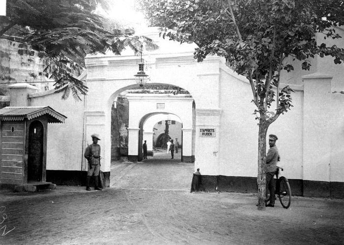 Senja Kala Fort Rotterdam Benteng Kota Makassar