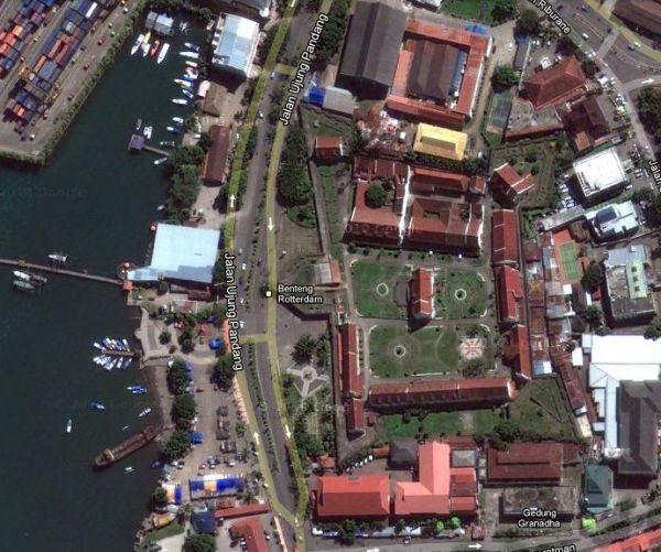 Teras Blog Saksi Bisu Sejarah Makassar Benteng Fort Rotterdam Kota
