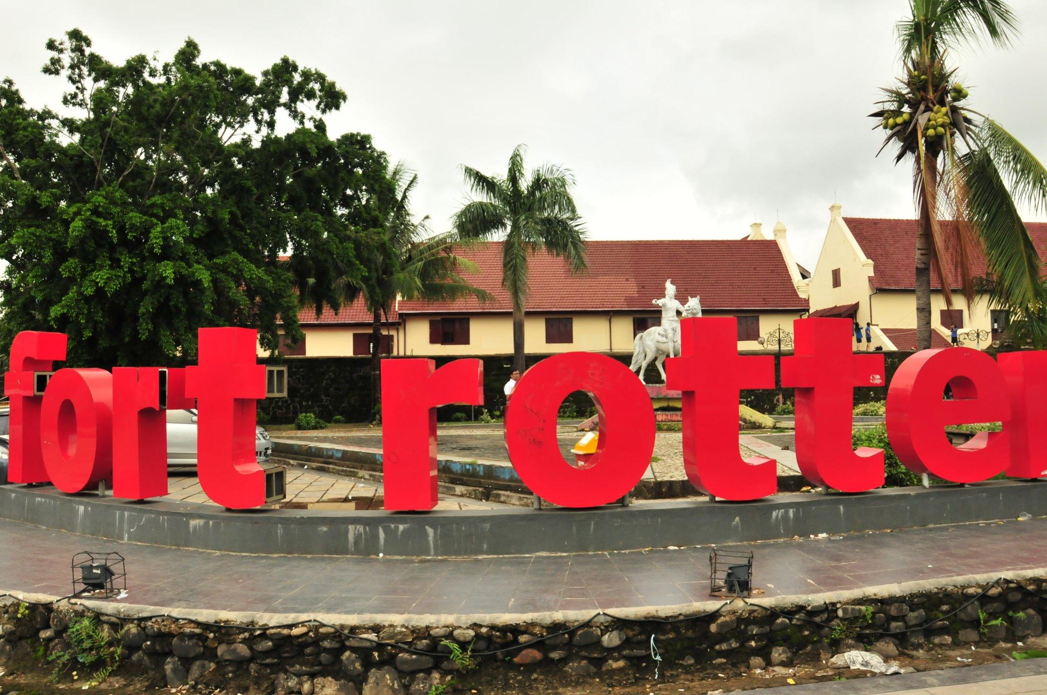 Travelling Benteng Fort Rotterdam Jejak Penjajahan Belanda Kompleks Ujung Pandang
